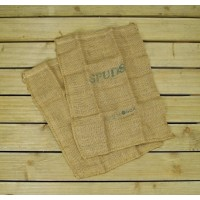 Potato Spud Hessian Jute Storage Sacks by Burgon and Ball