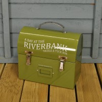 Tackle and Tuck box - Enamelware Storage Box by Burgon & Ball