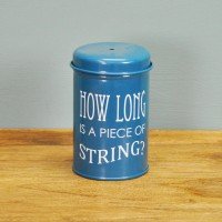 Garden Twine In a Blue Tin (120m) by Burgon & Ball