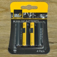 4 x AA Alkaline Batteries by Gardman