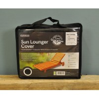 Sun Lounger Cover (Premium) in Black by Gardman