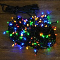 200 LED Multi-Coloured String Lights (Mains)