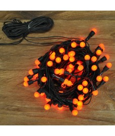 80 LED Red Berry Christmas Lights (Mains) by Kingfisher