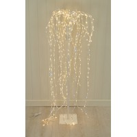 4ft (120cm) Artificial Weeping Christmas Tree with 670 LEDs