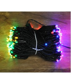 200 LED Multi-Coloured Supabright String Lights (Mains) by Premier