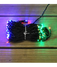 100 LED Multi-Coloured Supabright String Lights (Mains) by Premier