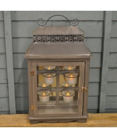 Alderney Battery Operated Candle Lantern by Gardman