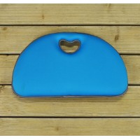 Premium Gardening Kneeler Cushion in Light Blue by Gardman
