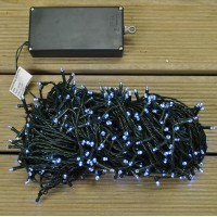 500 LED Ice White String Lights (Battery) by Smart Garden