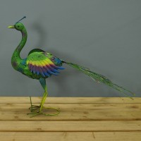Peacock Garden Ornament by Smart Garden