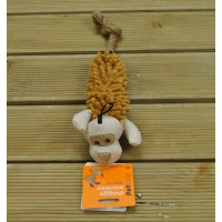 Shaggy Monkey Dog Toy by Petface