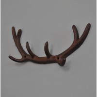 Cast Iron Antler Coat Hooks by Fallen Fruits