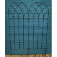 Pack of 2 Classic Design Metal Trellis (183cm x 61cm)