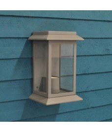 Grosvenor Wall Light in Charcoal (Mains) by Garden Trading