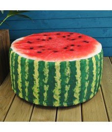 Outdoor Pouffe Garden Seat Melon Design by Fallen Fruits