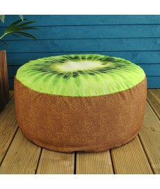 Outdoor Pouffe Garden Seat Kiwi Design by Fallen Fruits