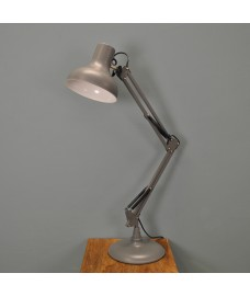 Clerkenwell Table Lamp in Charcoal by Garden Trading