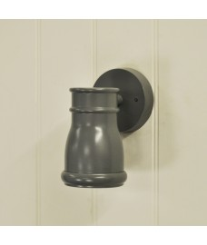 Gate Light in Charcoal (Mains) by Garden Trading