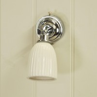 Alma Bathroom Wall Light by Garden Trading