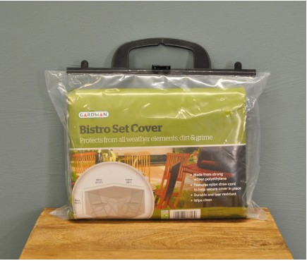 Two Seater Bistro Set Cover by Gardman
