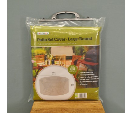 Large Round Patio Set Cover (2.25m) by Gardman