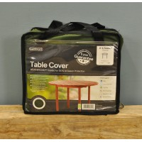 4-6 Seater Round Table Cover (Premium) in Green by Gardman