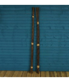 Pack of 40 Willow Pea & Bean Support Sticks (180cm)