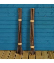 Pack of 40 Willow Pea & Bean Support Sticks (90cm)