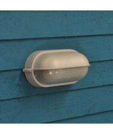 Chatham Half Bulk Head Wall Light (Mains) by Garden Trading