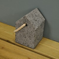 Granite Door Stop by Garden Trading