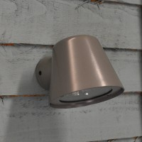 Mast Wall Light (Mains) in Charcoal by Garden Trading