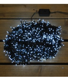 1500 LED White Treebright String Lights (Mains) by Premier