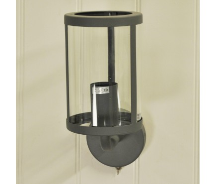 Cadogan Wall Light in Charcoal by Garden Trading