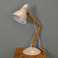 Bermondsey Table Lamp in Oak by Garden Trading