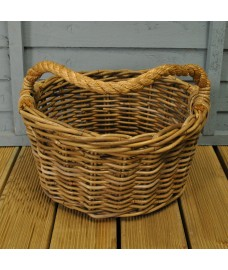 Harvest Basket with Rope Handles by Garden Trading