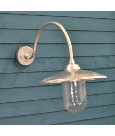 St Ives Arched Swan Neck Light by Garden Trading