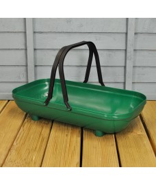 Plastic Colander Trug in Green by Garland