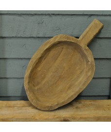 Wooden Bothy Serving Tray with Handle