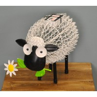 Silhouette Dolly the Sheep Light Garden Sculpture (Solar) by Smart Garden