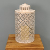 Casablanca Battery Operated Candle Lantern By Smart Solar