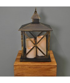 Monterey Battery Operated Candle Lantern By Smart Solar
