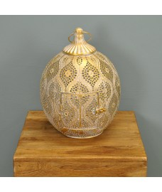 Cairo Candle Lantern By Smart Solar