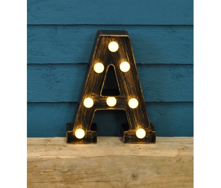 Letter A - Battery Operated Lumieres Light by Smart Garden