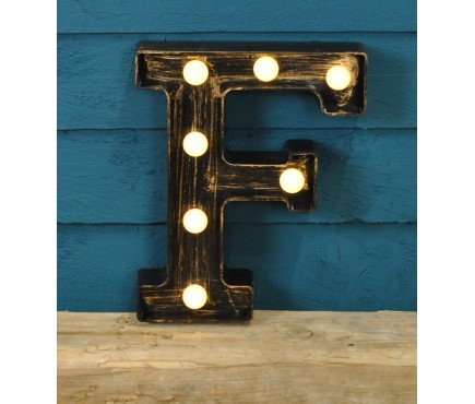 Letter F - Battery Operated Lumieres Light by Smart Garden