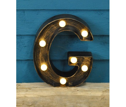 Letter G - Battery Operated Lumieres Light by Smart Garden