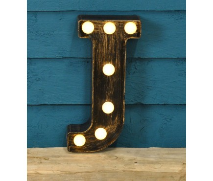Letter J - Battery Operated Lumieres Light by Smart Garden