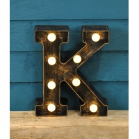 Letter K - Battery Operated Lumieres Light by Smart Garden