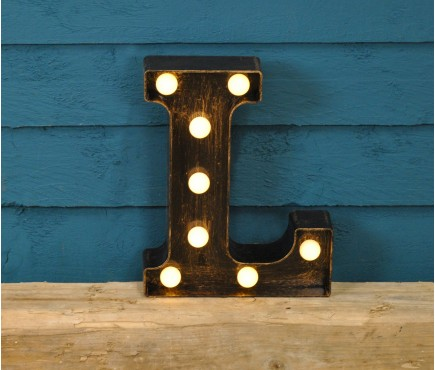 Letter L - Battery Operated Lumieres Light by Smart Garden