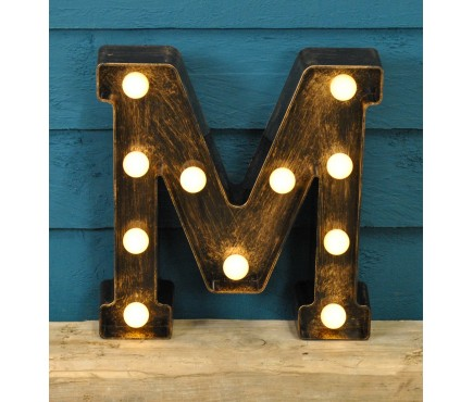 Letter M - Battery Operated Lumieres Light by Smart Garden