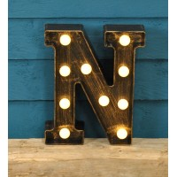 Letter N - Battery Operated Lumieres Light by Smart Garden